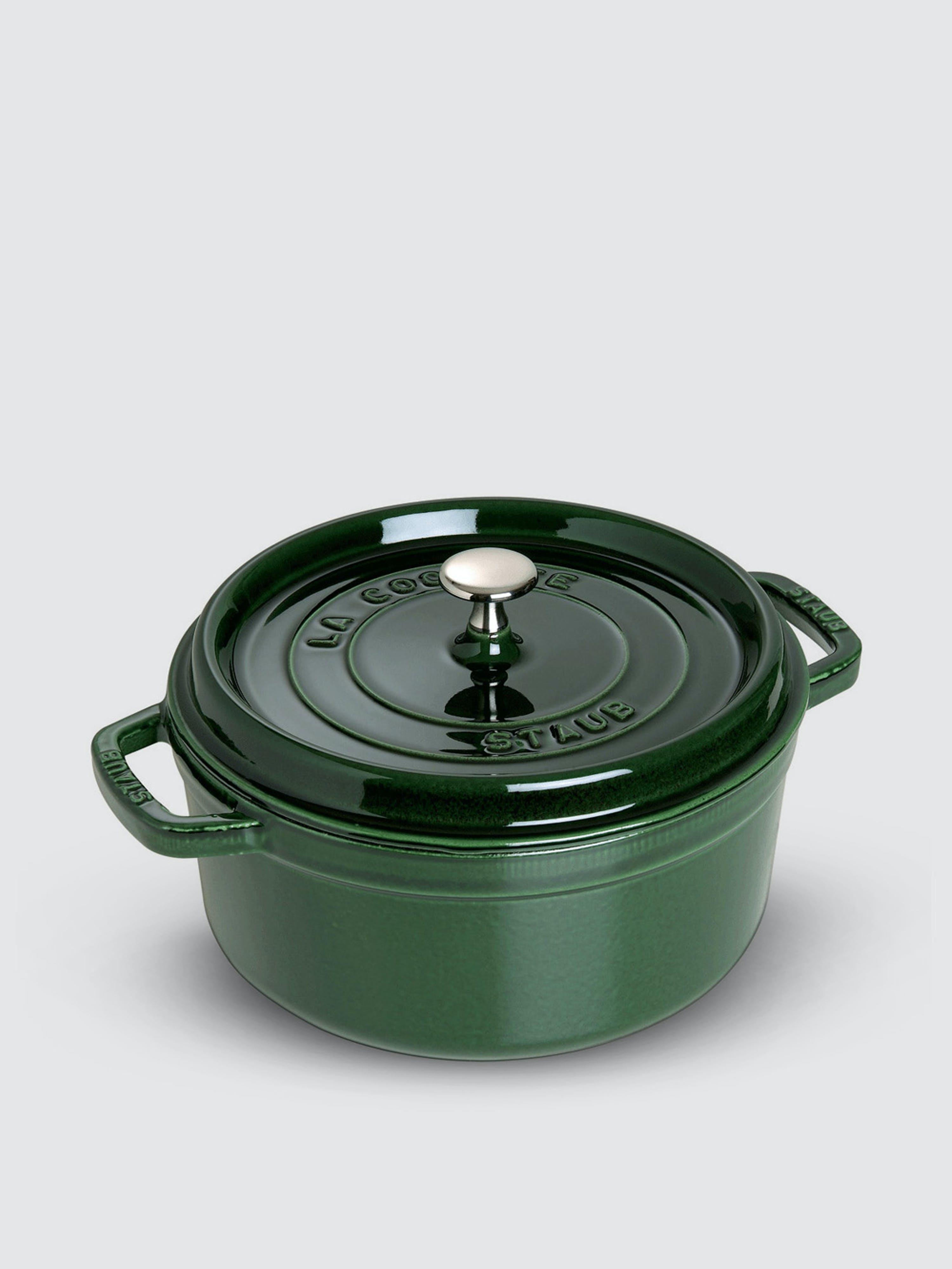 Staub - Verified Partner 2.75-Qt Round Cocotte  - Green
