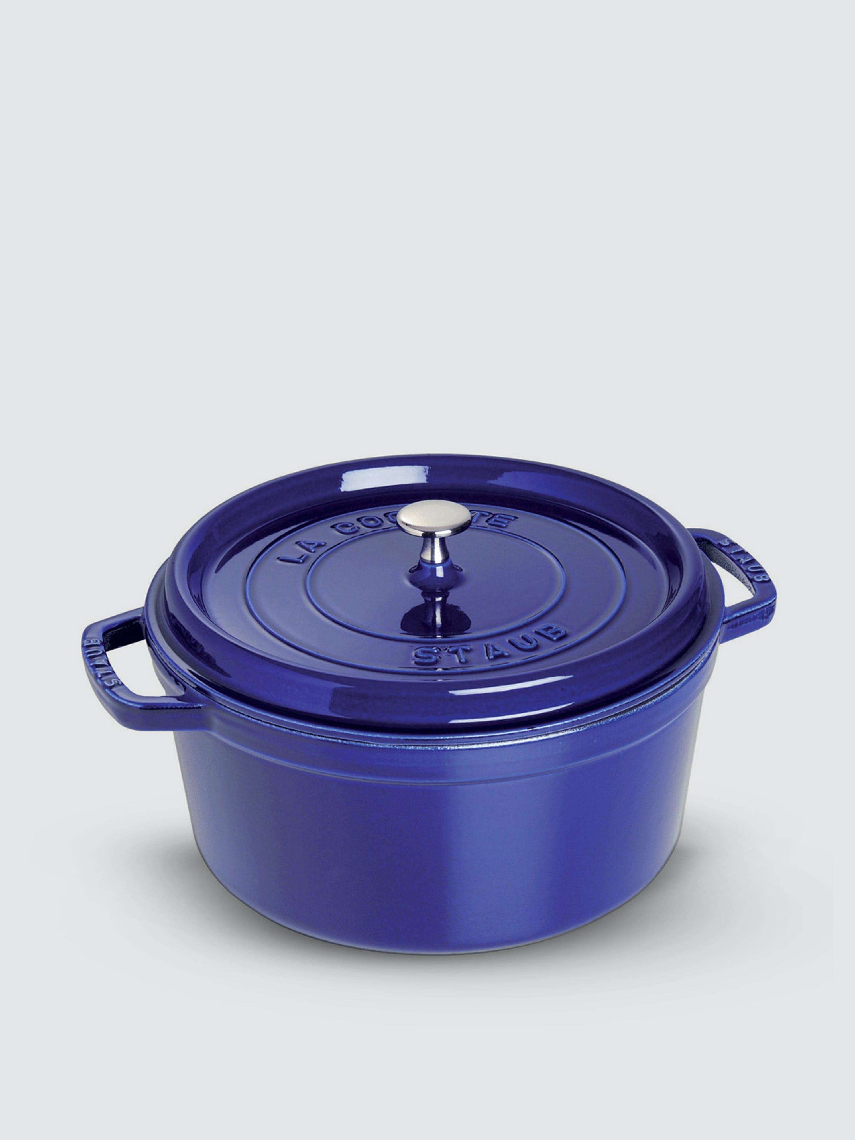 Staub - Verified Partner 2.75-Qt Round Cocotte  - Blue