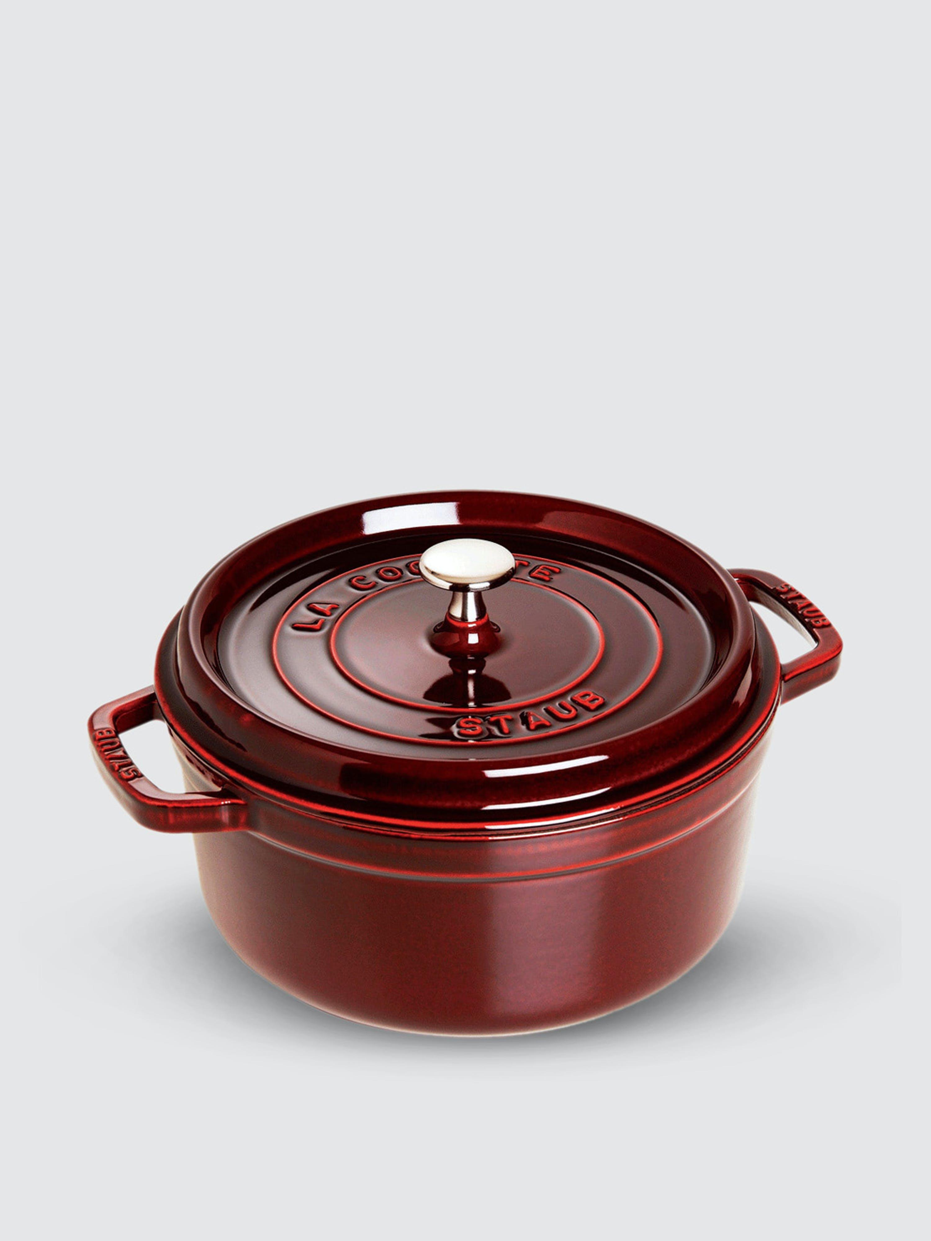Staub - Verified Partner 2.75-Qt Round Cocotte  - Red