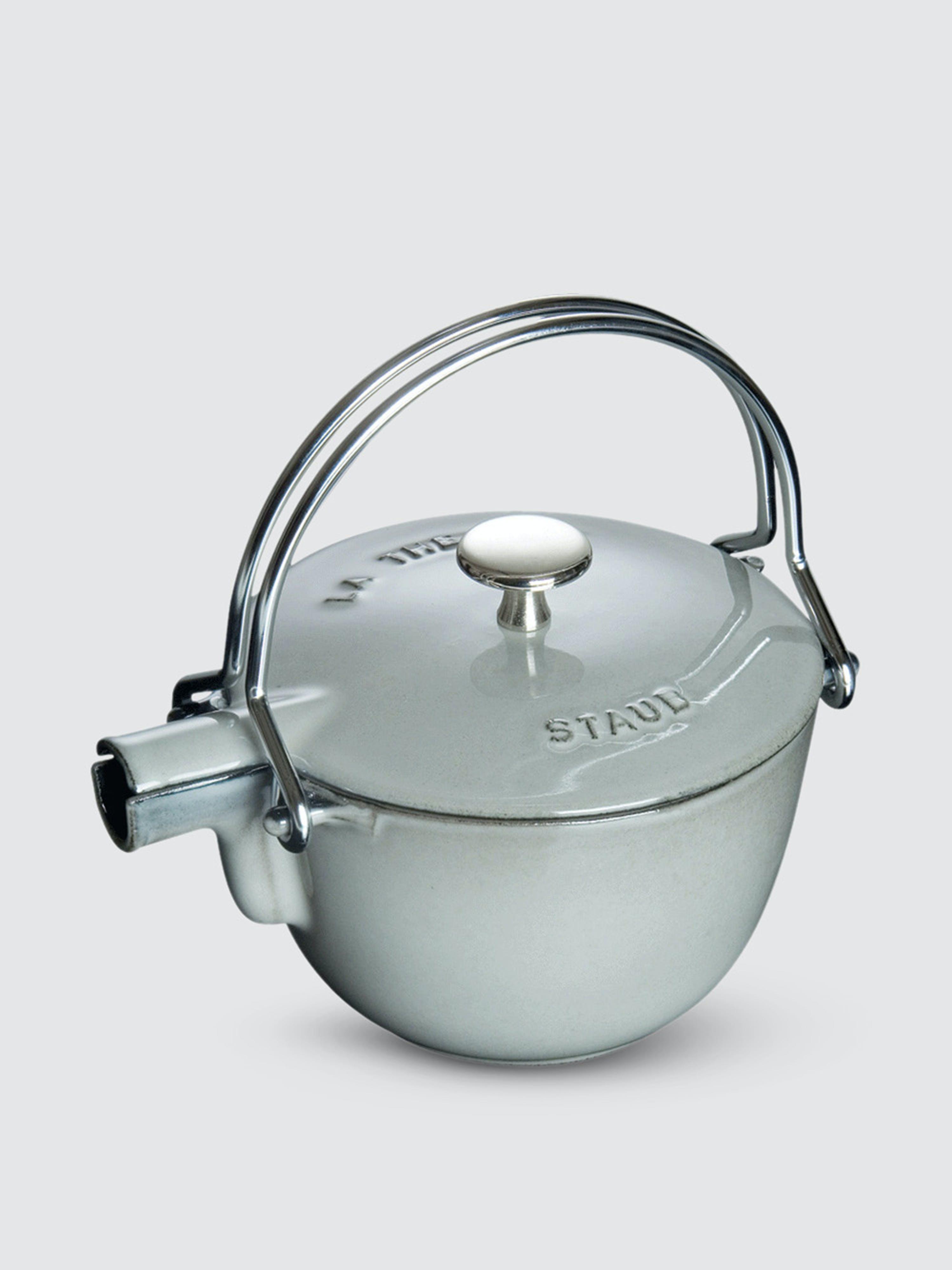 Staub - Verified Partner 1-Qt Round Tea Kettle  - Grey