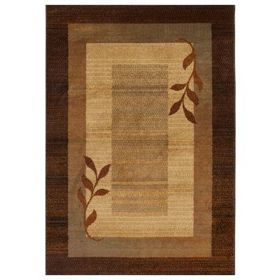 """Home Dynamix """"Royalty Rug, Size 7'8"""""""" x 10'4"""""""" in Brown/Blue by Home Dynamix"""""""