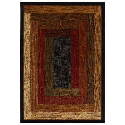 """Home Dynamix """"Royalty Rug, Size 7'8"""""""" x 10'4"""""""" in Black by Home Dynamix"""""""