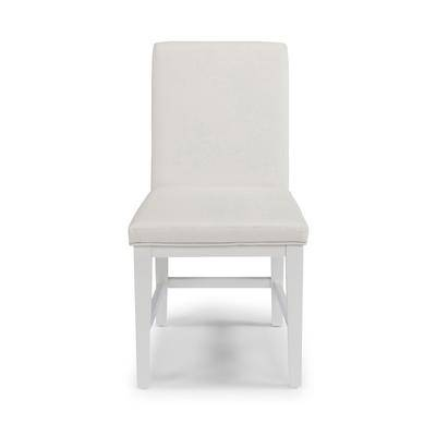 Home Styles Linear Pair of Dining Chairs in White by Home Styles