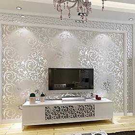 floral / botanical / 3d wall stickers 3d wall stickers decorative wall stickers, nonwoven home decoration wall decal wall decoration 1pc