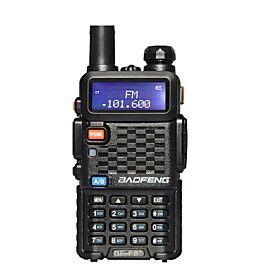 BaoFeng BF-F8 Handheld Emergency Alarm 136-174MHz/400-520 MHz FM Ham Two-Way Radio Walkie Talkie Transceiver