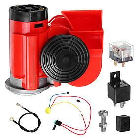 Horn Snail Compact Airhorn Truck / Motorcycle / Boat Audio speakers Car Audio Motorcycles / universal