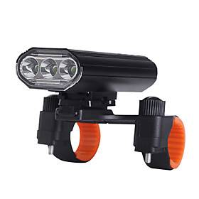 LED Bike Light Rechargeable Bike Light Set Bike Glow Lights Front Bike Light LED Bicycle Cycling Waterproof 360° Rotation Super Bright USB Charging Output 1865