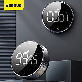 Baseus LED Magnetic Digital Timer For Kitchen Cooking Countdown Alarm Clock Electronic Cooking Countdown Timer