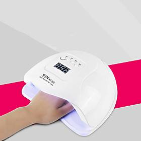 Nail Dryer 80W Professional Nail Dryer rofessional Nail Art Tools Accessories 4 Timer Setting Infrared Sensor with 36pcs LEDs for Fast Drying Fingernails and T