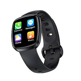 T8 Smartwatch Support Heart Rate/Blood Pressure Measure, Sports Tracker for Android/IOS Phones