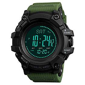 mens watch compass altimeter barometer temperature digital outdoor sports fitness pedometer activity tracker for men military army litbwat