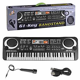 Electronic Keyboard Musical Instruments Music Plastics Boys' Girls' Kid's Graduation Gifts Toy Gift