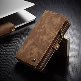 Samsung CaseMe Multifunctional Luxury Business Leather Magnetic Flip Case For Samsung Galaxy A71 / A51 / S20 / S20 Plus / S20 Ultra With Wallet Card Slot Stand 2-in-1