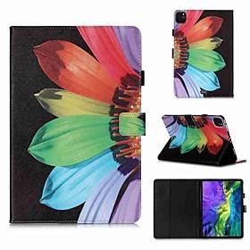 Apple Case For Apple iPad Pro 11''(2020) / iPad 2019 10.2 / Ipad air3 10.5' 2019 Wallet / Card Holder / with Stand Full Body Cases Sunflower PU Leather / TPU for iPa