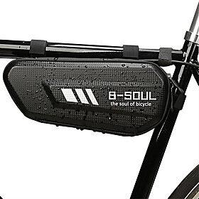 1.8 L Bike Frame Bag Top Tube Waterproof Portable Waterproof Zipper Bike Bag TPU Terylene Bicycle Bag Cycle Bag Bike / Bicycle