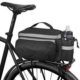ROSWHEEL 10 L Bike Rack Bag Waterproof Wearable Shockproof Bike Bag Cloth Polyester PVC(PolyVinyl Chloride) Bicycle Bag Cycle Bag Cycling / Bike