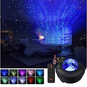 Baby  Kids' Night Lights Music Moon Star LED Lighting Light Up Toy Glow 5 V USB Kid's Adults for Birthday Gifts and Party Favors  1 pcs