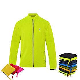 Men's Cycling Jersey Bike Jacket Top Waterproof Windproof Breathable Sports fluorescent green / Zhangqing / Black Mountain Bike MTB Road Bike Cycling Clothing