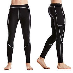 Body Shaper Slimming Pants Shapewear Sports Chinlon Nylon Neoprene Yoga Gym Workout Pilates Stretchy Weight Loss Tummy Fat Burner Hot Sweat For Men