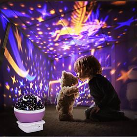 LITBest Sky Projector Light Unicorn Galaxy Starry Sky Starry Night Light LED Lighting Music Box Light Up Toy Music  Light USB Child's for Birthday Gifts and Pa