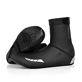 Nuckily Adults Adults' Shoe Cover Cycling Shoes Cover / Overshoes Windproof Road Cycling Cycling / Bike Cycling Shoes Black Unisex Cycling Shoes