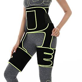 Back Support / Lumbar Support Belt Sweat Waist Trimmer Sauna Belt Sports Neoprene Gym Workout Exercise  Fitness Portable Adjustable Stretchy Weight Loss Tummy