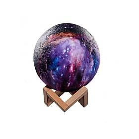 3D Star Moon Lamp Colorful Change Touch Home Decor Creative Gift Led Night Light Galaxy Lamp