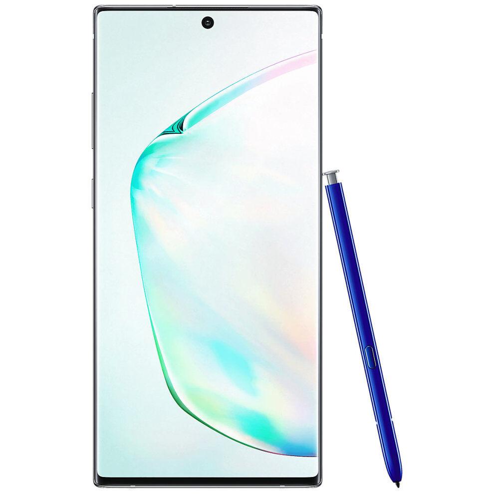 Samsung (Unlocked, Aura Glow) Samsung Galaxy Note10+ Dual Sim   256GB   12GB RAM