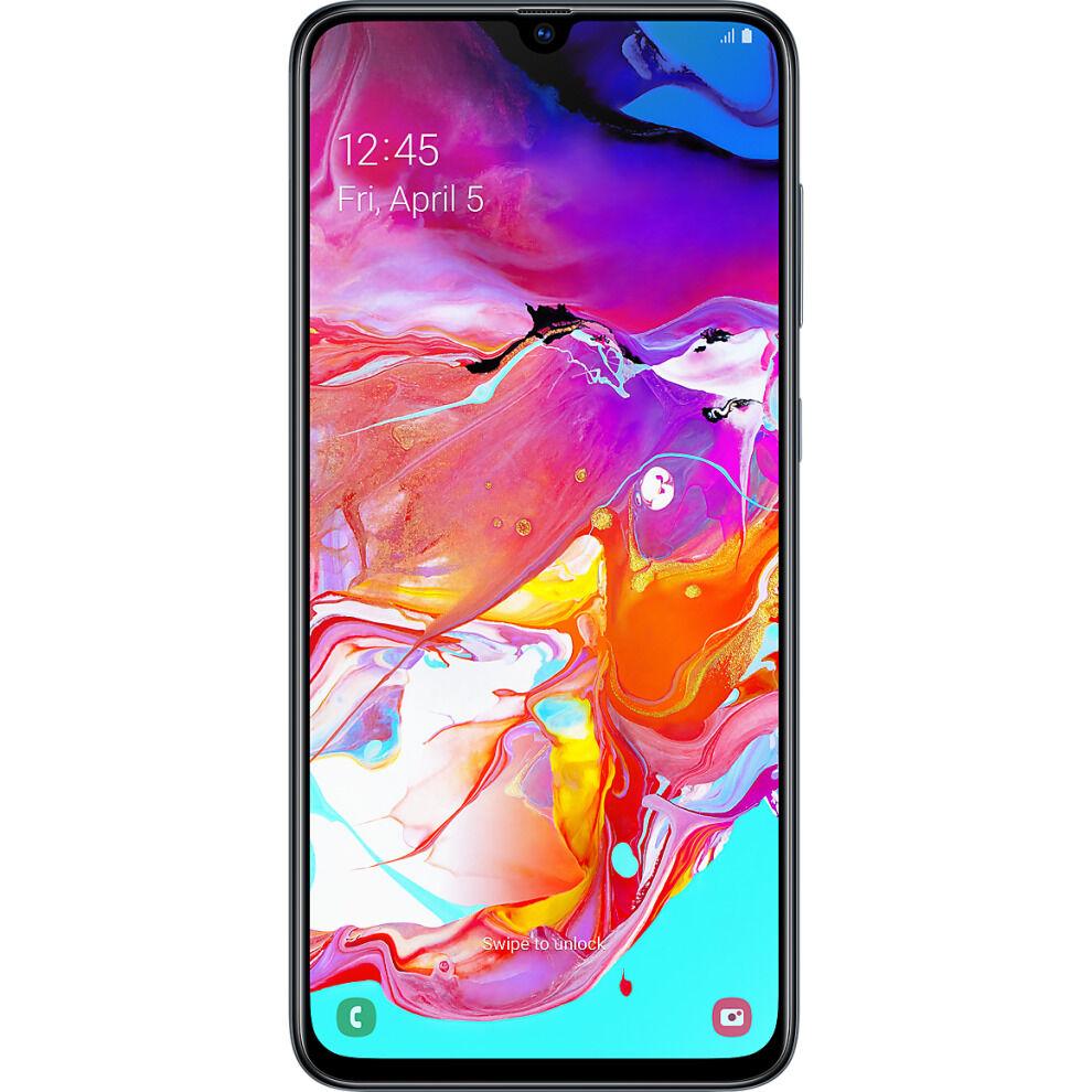 (Unlocked, Black) Samsung Galaxy A70 Dual Sim   128GB   8GB RAM