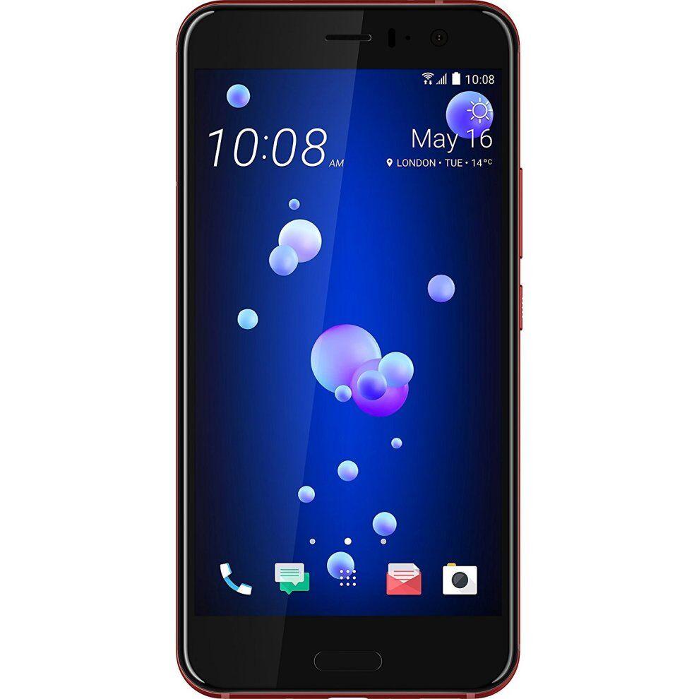 (Unlocked, Solar Red) HTC U11 Single Sim   128GB   6GB RAM