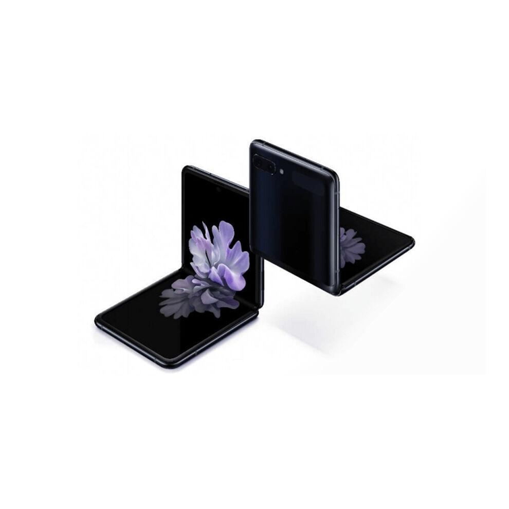 Samsung (Unlocked, Mirror Black) Samsung Galaxy Z Flip Single & eSim   256GB   8GB RAM