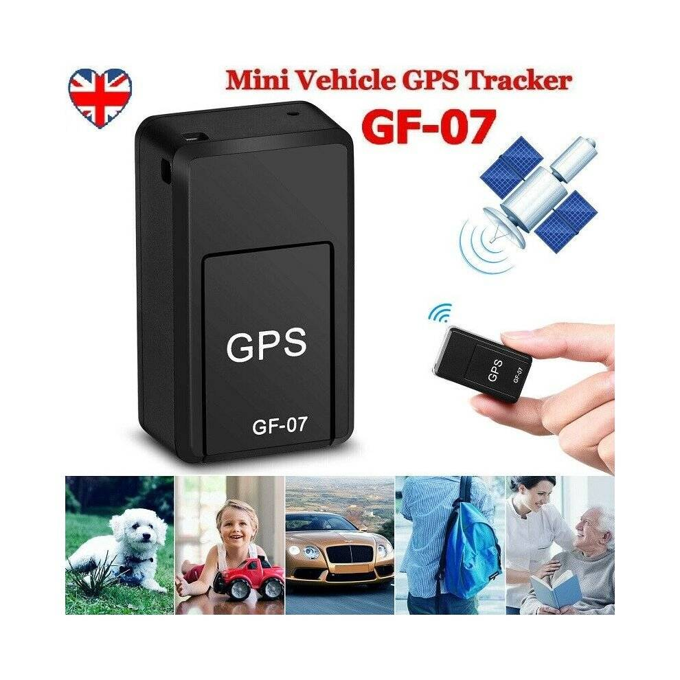 Mini GF-07 Car GPS Tracker Realtime SOS Tracking Device GSM/GPRS Anti-lost GB