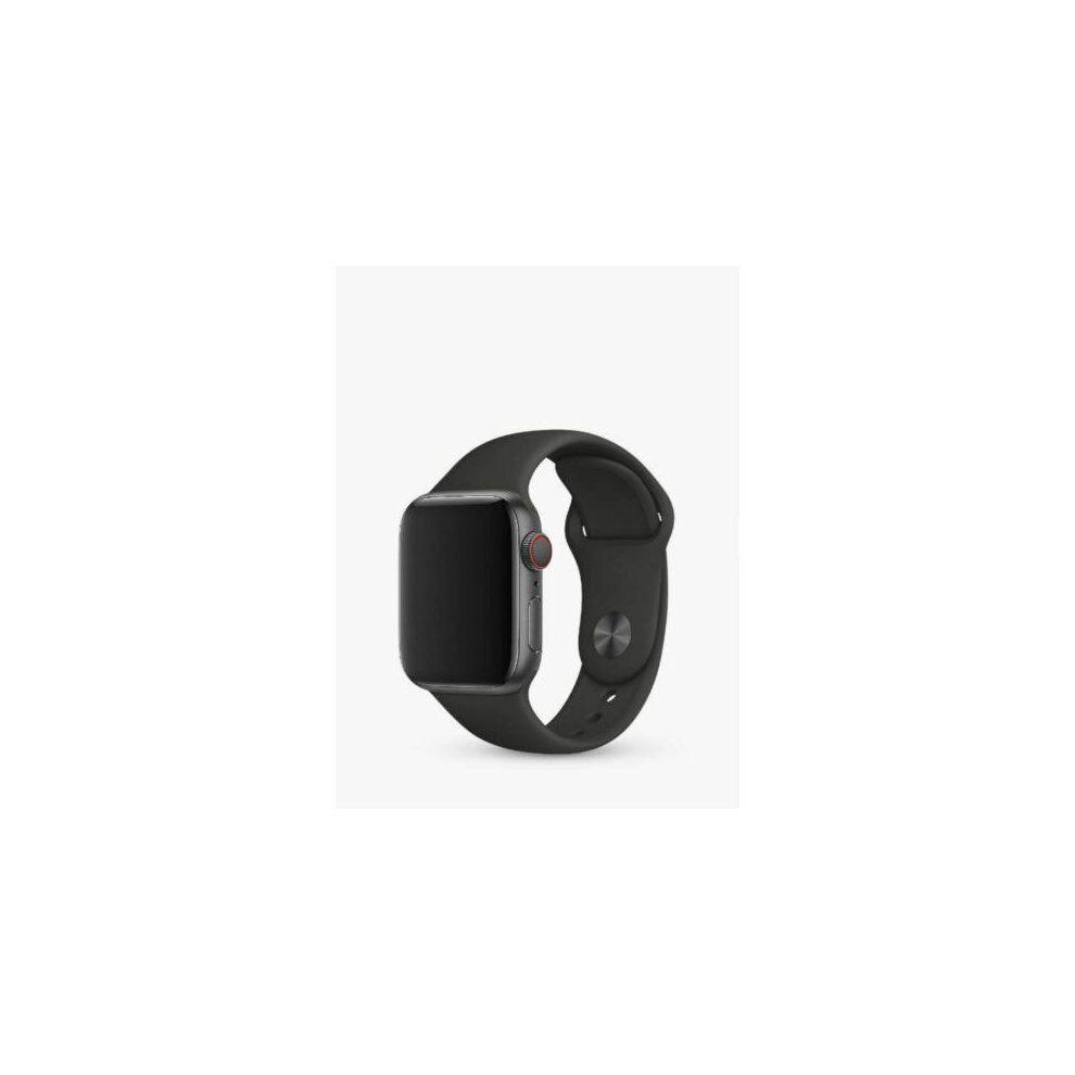 Genuine Apple watch 3E047ZM/A Black Sports Band Strap 42 & 44mm