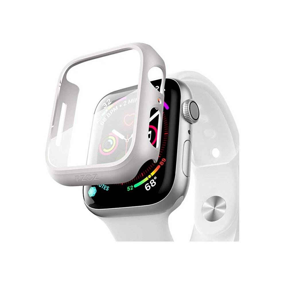fonefunshop For Apple Watch Series 3 2 1 42mm - Full Body Cover Case / Screen Protector - Wh