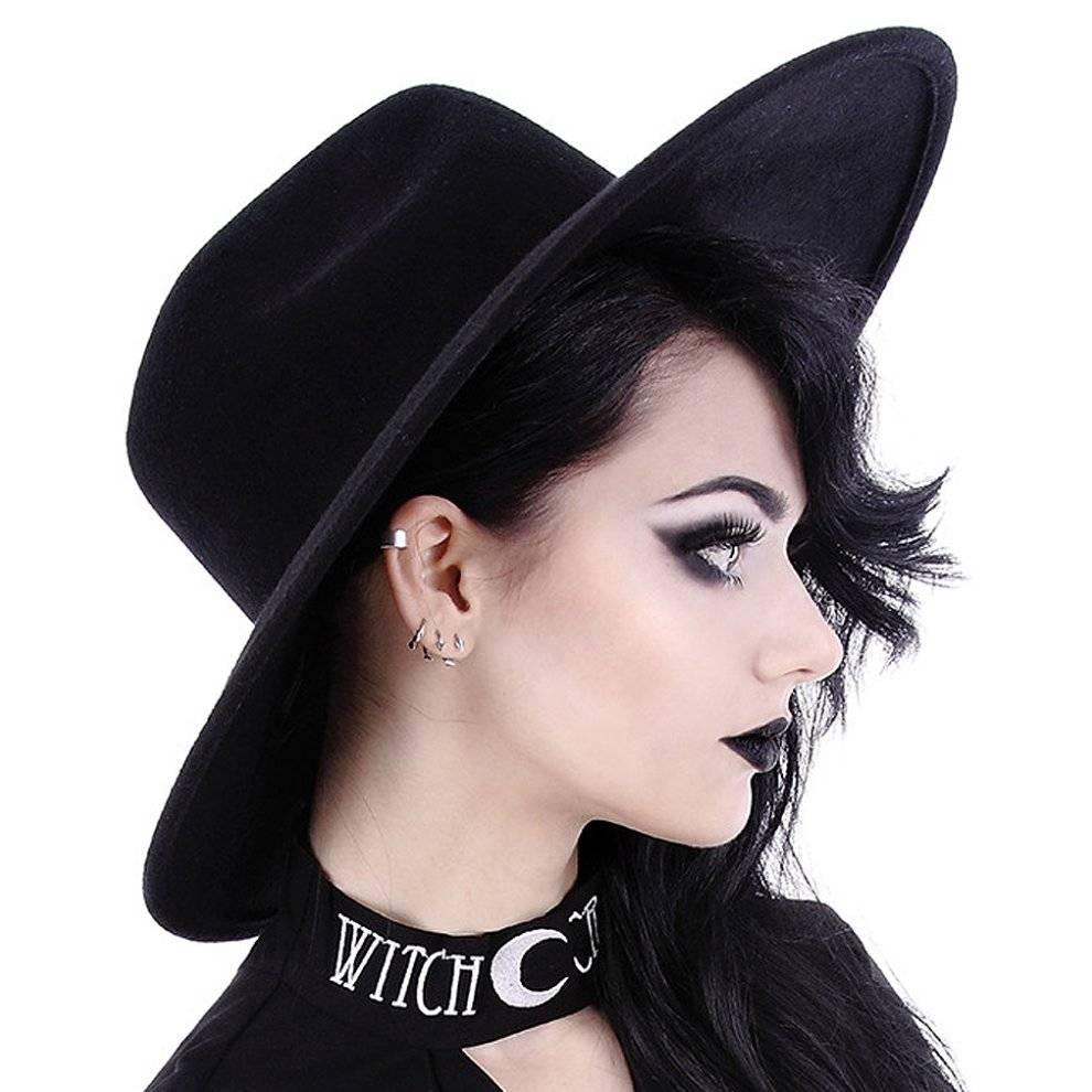 Restyle Clothing Restyle - WITCH HAT - Gothic Fashion Accessory