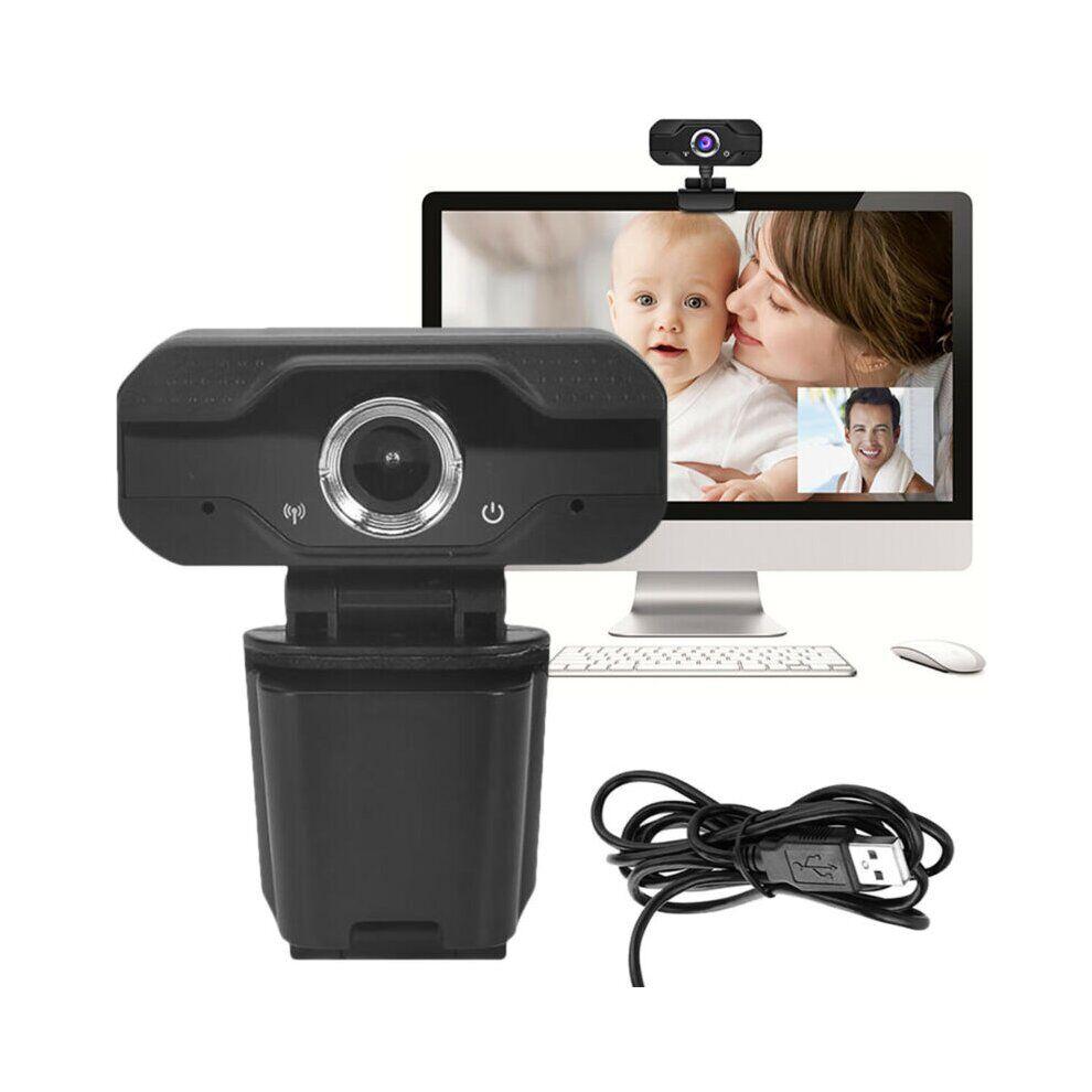 Unbranded HD 1080P Webcam Computer Laptop Web Cam Camera Video Calling
