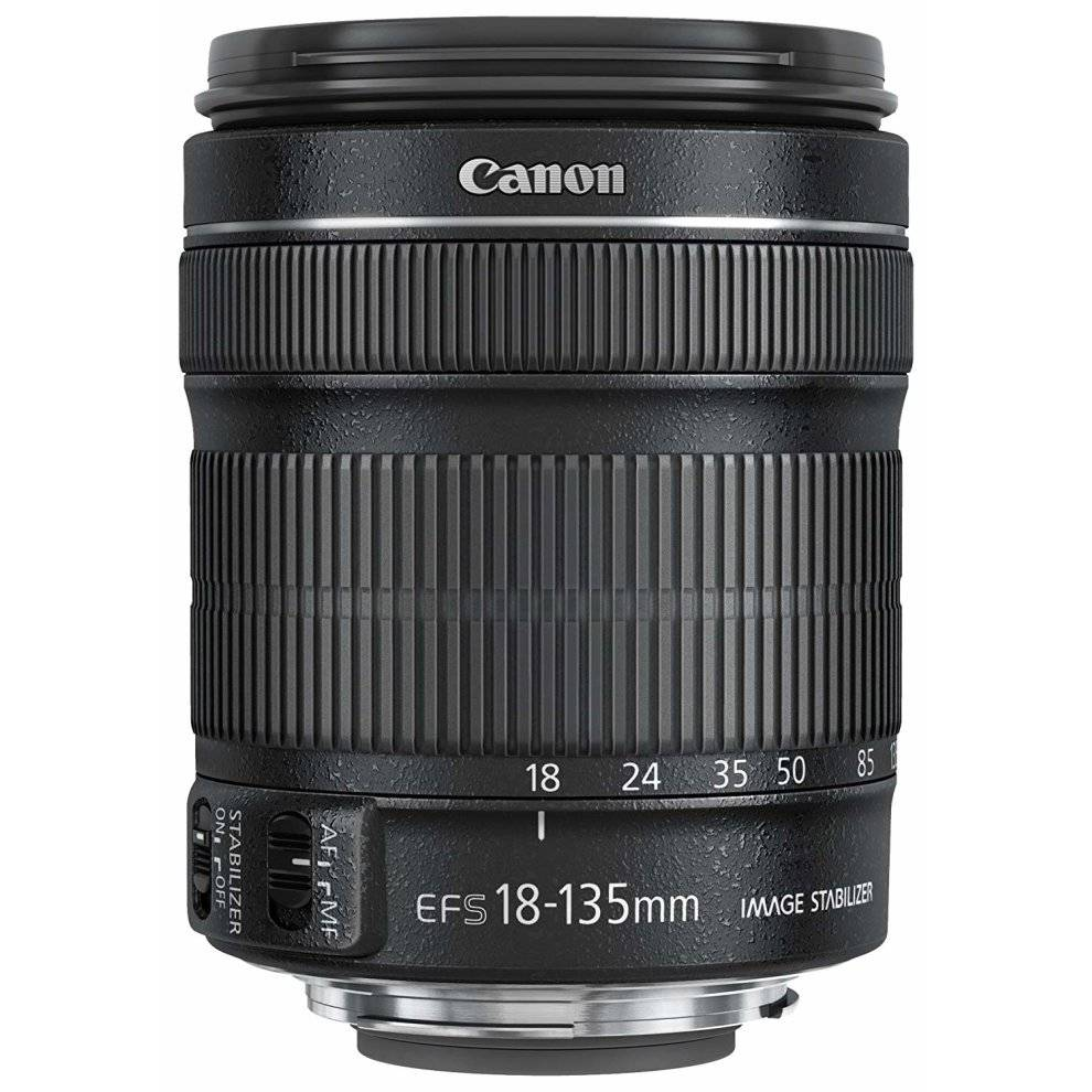 Canon EF-S 18-135mm f/3.5-5.6 IS STM - Black   Canon Camera Lens