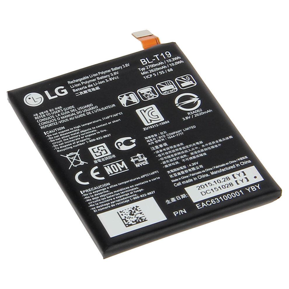 LG Battery for LG Google Nexus 5X LG BL-T19 2700mAh Replacement Battery