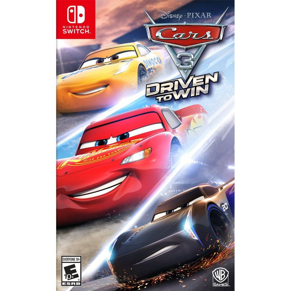 Warner-Home-Video-Games Cars 3: Driven to Win
