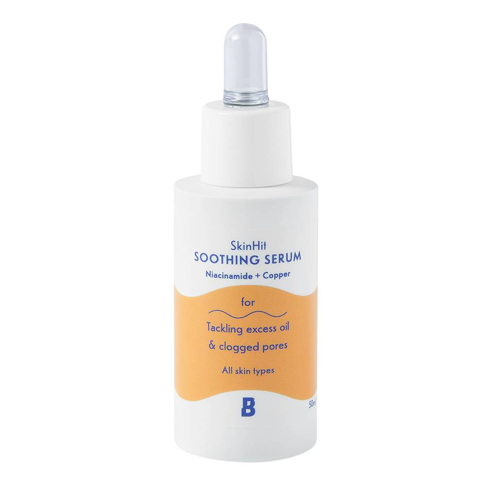 By BEAUTY BAY SkinHit Soothing Serum with Niacinamide and Copper 50ml