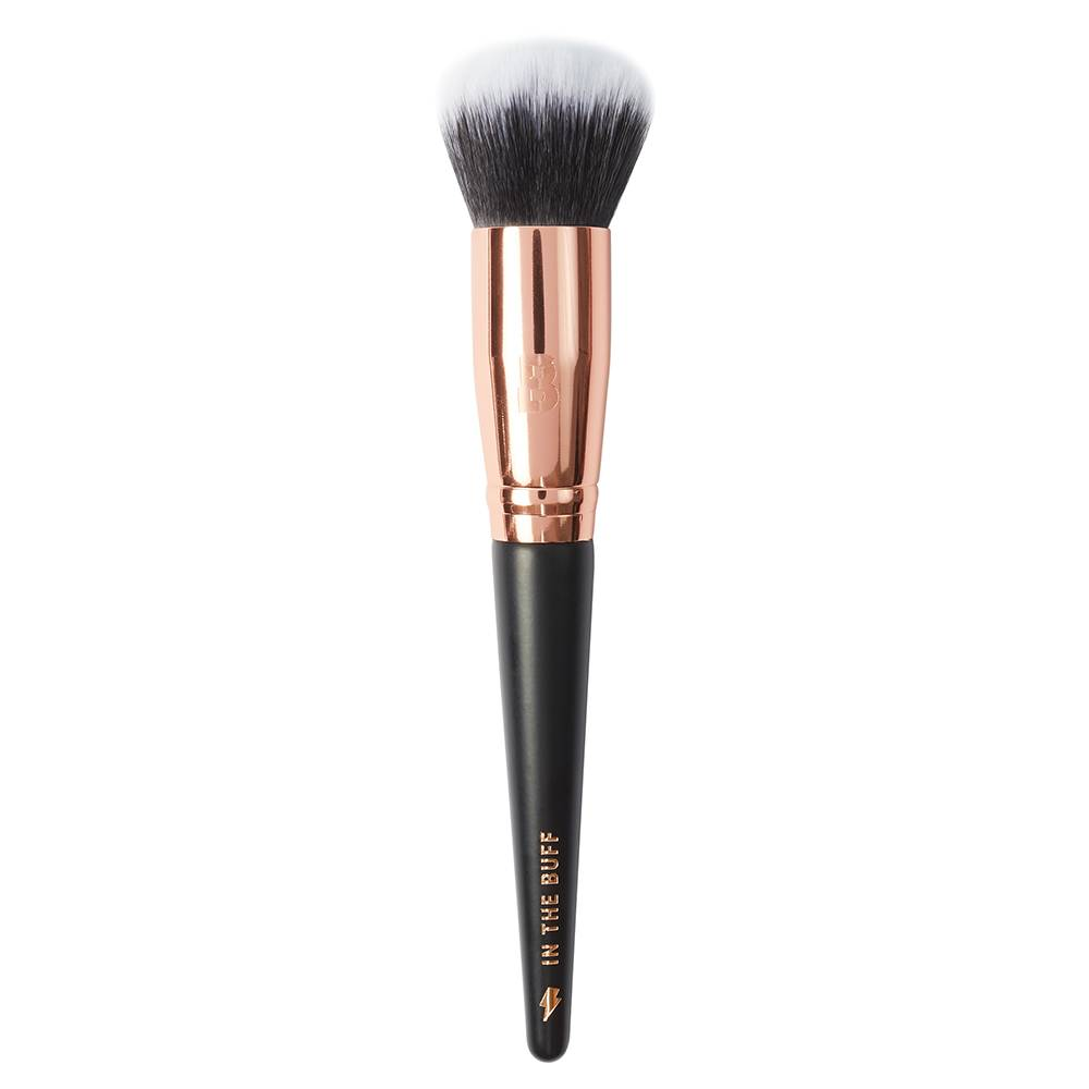 By BEAUTY BAY Rose Gold Glam In The Buff Foundation Buffing Brush
