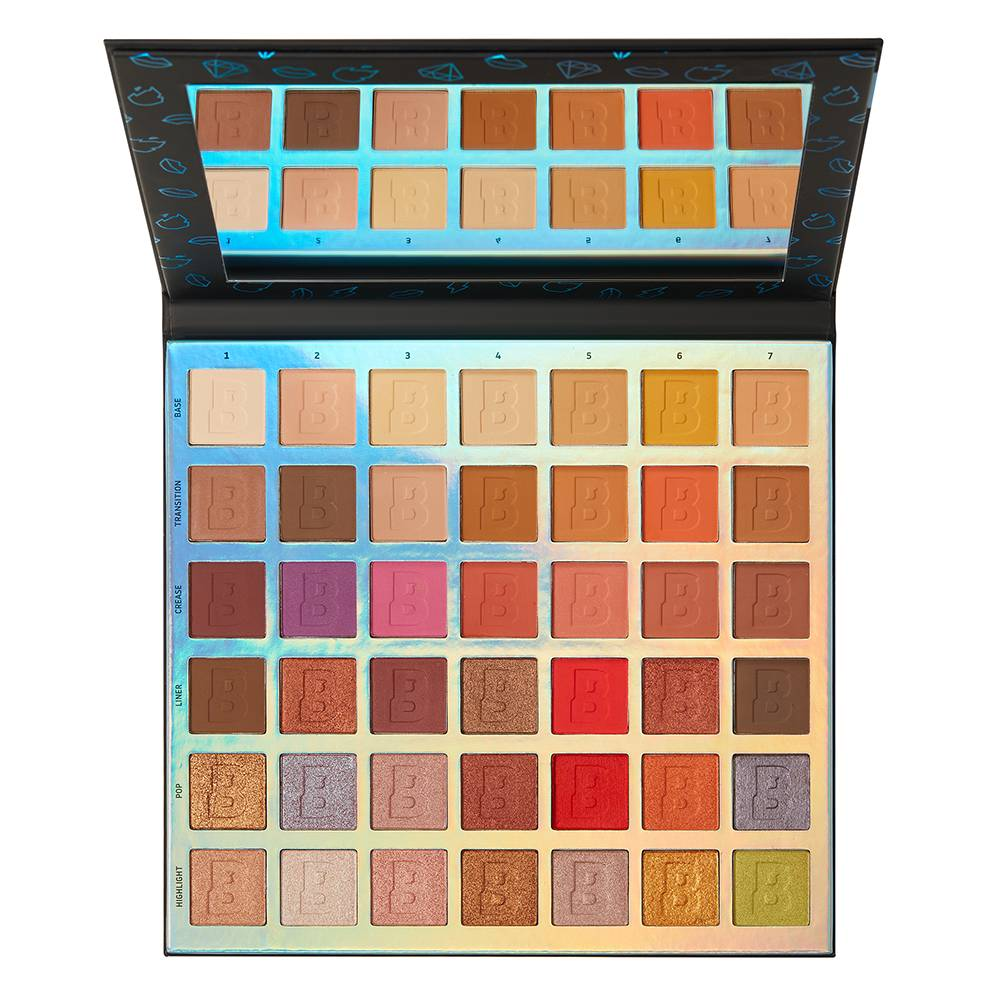 By BEAUTY BAY Identity 42 Colour Eyeshadow Palette