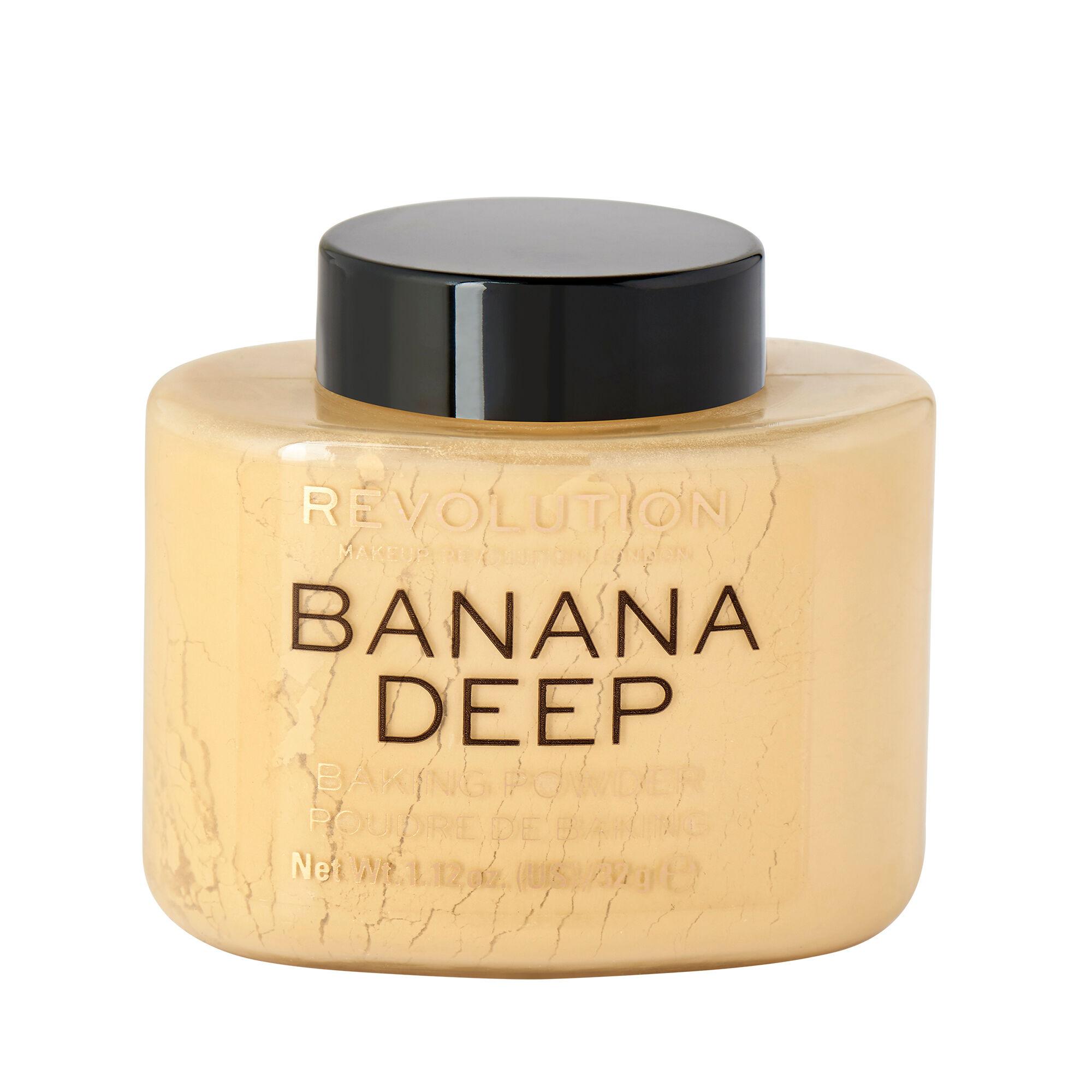 Makeup Revolution Loose Baking Powder Banana Deep 40g