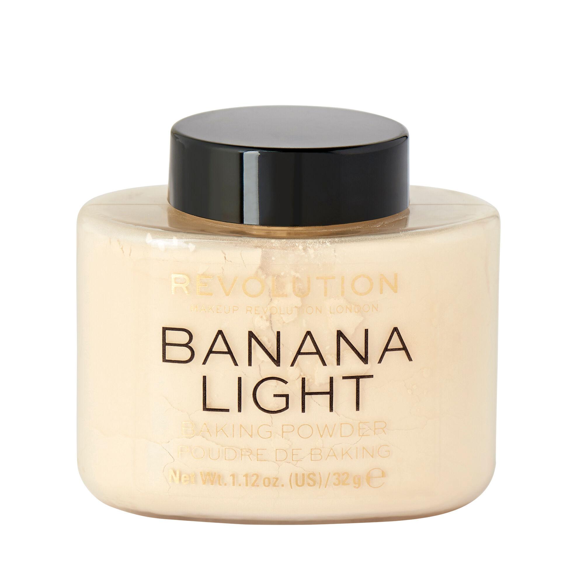 Makeup Revolution Loose Baking Powder Banana Light 40g