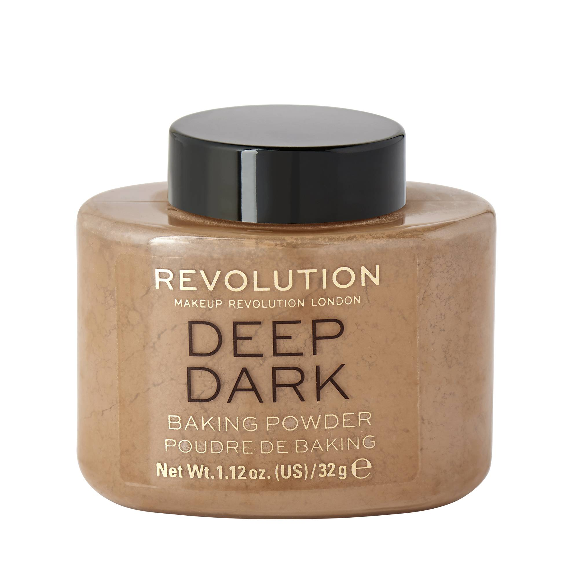 Makeup Revolution Loose Baking Powder Deep Dark 40g