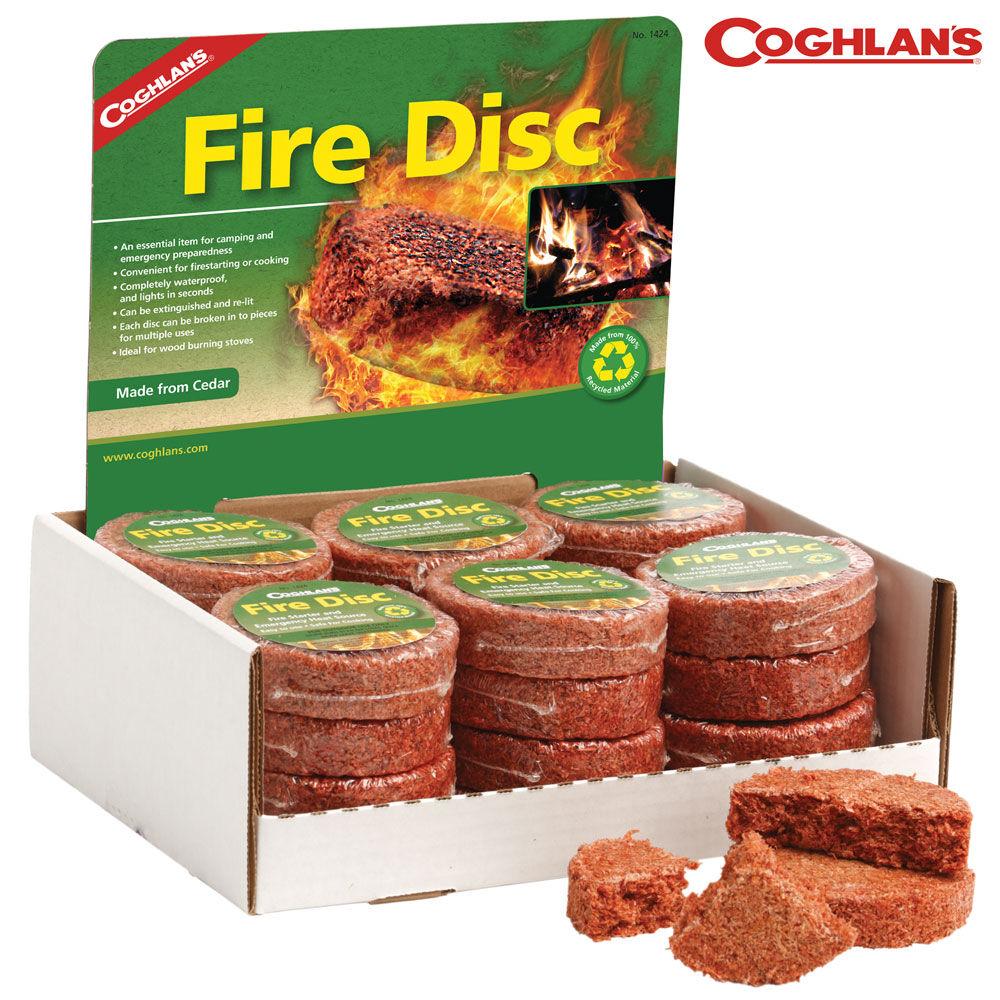 Coghlans Fire Disc - Case/24