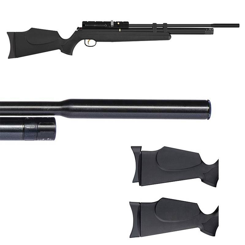 Hatsan AT44S - 10 Q. Energy PCP (.177 cal) Rifle BLK- Refurb