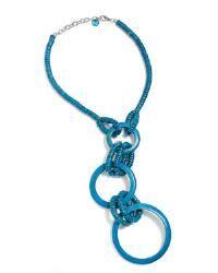 Jump Thru Hoops Necklace