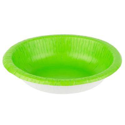 Creative Labs Converting 173123 20 oz. Fresh Lime Green Paper Bowl - 200/Case