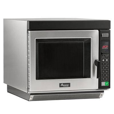 Amana Commercial Microwaves Amana RC17S2 Heavy Duty Stainless Steel Commercial Microwave Oven with Push Button Controls - 208/240V, 1700W